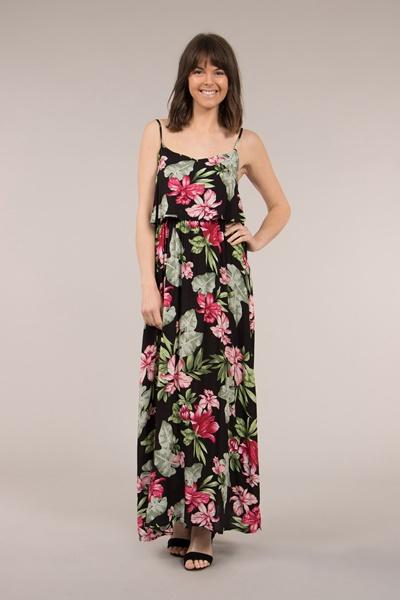 Floral Cami Maxi Dress
