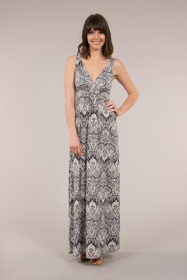 Summer Printed Maxi Dress