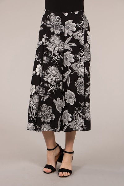 Floral Wrap Layer Pants