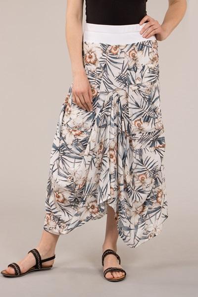 Hanky Hem Maxi Skirt