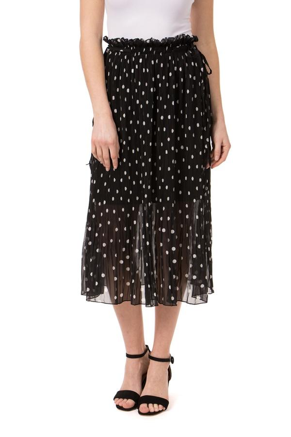 Sheer Polka Dot Skirt