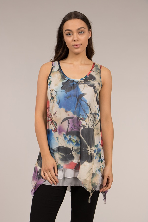 Printed Double Layer Top