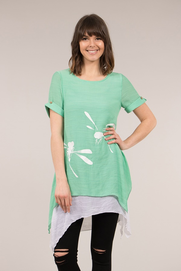 Dragonfly Double Layer Top